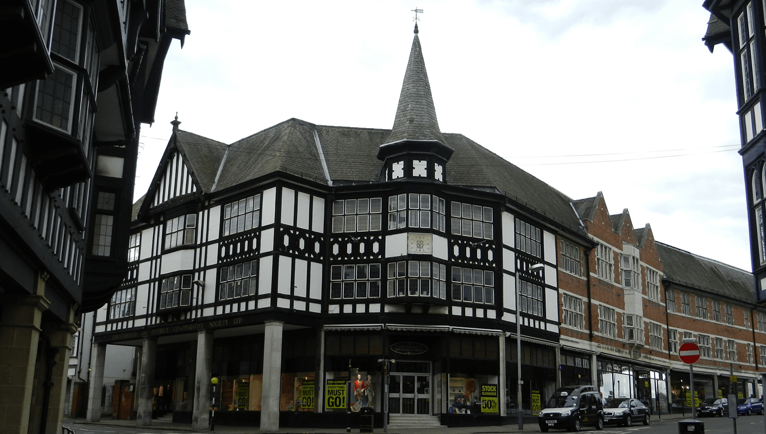 Commercial period building in Chesterfield